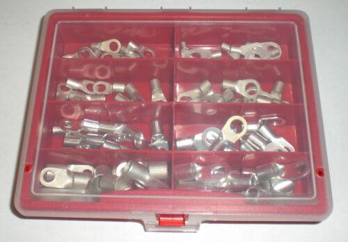 Quetschkabelschuhe Sortiment Ringform 70 25mm² mit M6 und M8 teilig von 6mm²