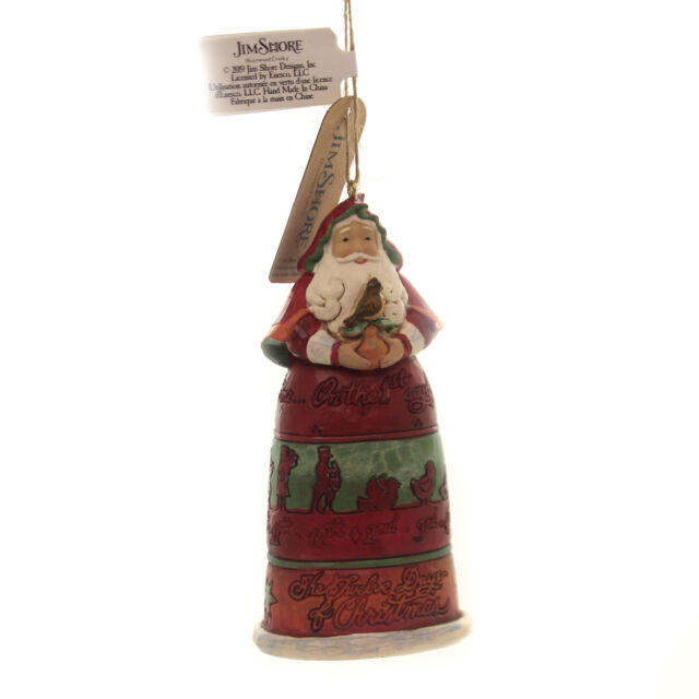 Jim Shore 12 Days of Christmas Santa Ornament on The First ...