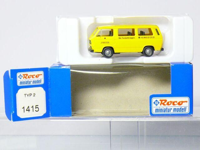 Roco 1415 VW Bus T3 Radio Interference Suppression Bundesamt post 1:87 H0