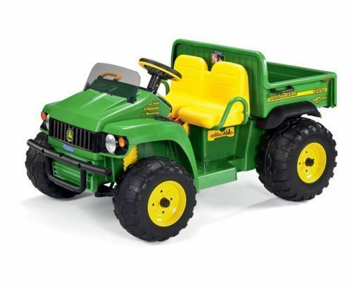peg perego deere gator hpx ride on electric tractor 12 volt god0060 ebay