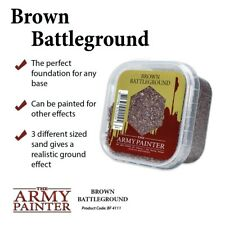 The Army Painter Brown Battleground Basing Material Tap4111