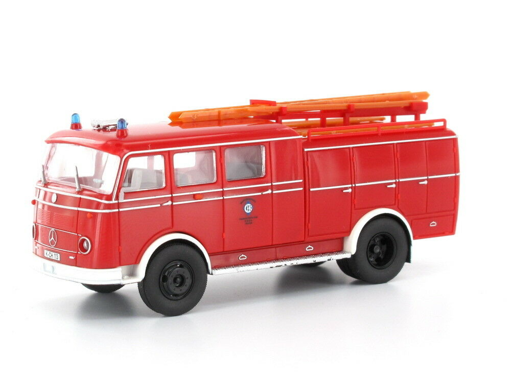 Heico hc2024 h0 CAMION MERCEDES lp311 Pullman TLF 16 pompiers CFK Cologne tanklöschfa