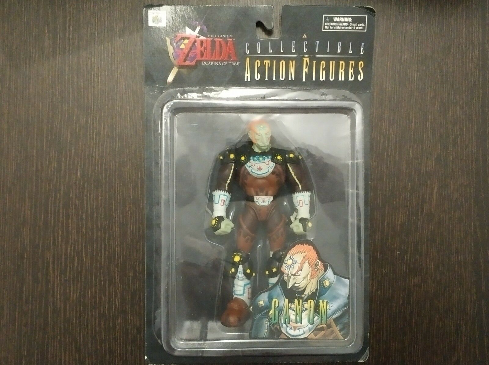 Zelda: Ocarina of Time Ganondorf Figure Collectible Action 1998 - 16 Cent New