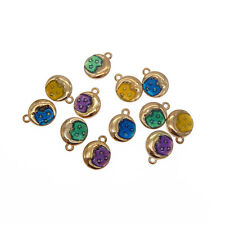 30pcs Mixed Colorful Alloy Bow-Knot Bow Tie Enamel Charms Pendants Crafts 53033