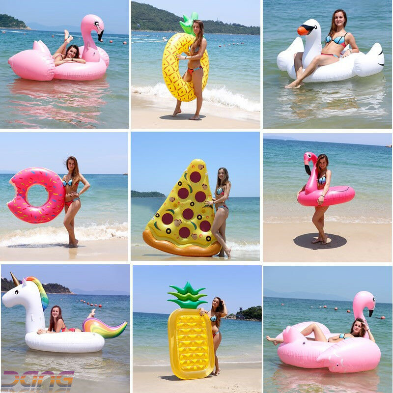 Details about Inflatable Giant Swim Pool Floats Raft Swimming Fun Water  Sports Beach Toy Hot