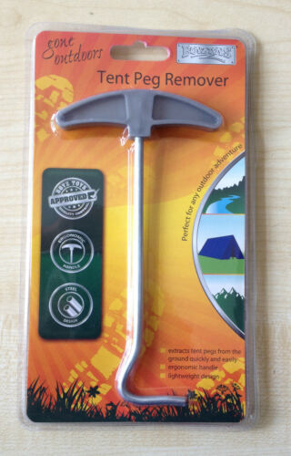 TENT PEG REMOVER PULLER CAMPING QUALITY TENT PEG EXTRACTOR 1 NO UK SELLER