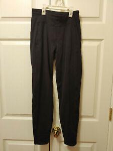 Women-Lululemon-Solid-Black-Leggings-Size-4