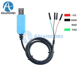 PL2303TA USB TTL to RS232 Module Converter Serial Adapter Cable F Win XP//7//8//8.1