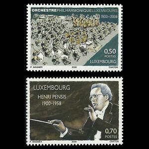 Luxembourg-2008-Orchestre-Philharmonique-du-Luxembourg-SC-1229-30-neuf-sans-charniere