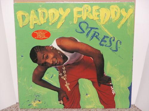 DADDY FREDDY / STRESS LP OG US 1991 PROMO RAGGA HIP HOP VINYL TENOR FLY RESPECT