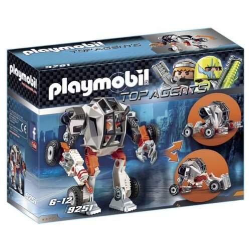 Chef Spy Team avec Robot