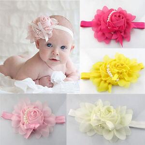 1PCS-Cute-Angel-Rhinestone-Pearl-Flower-Lovely-Baby-Girl-Hairband-Headband