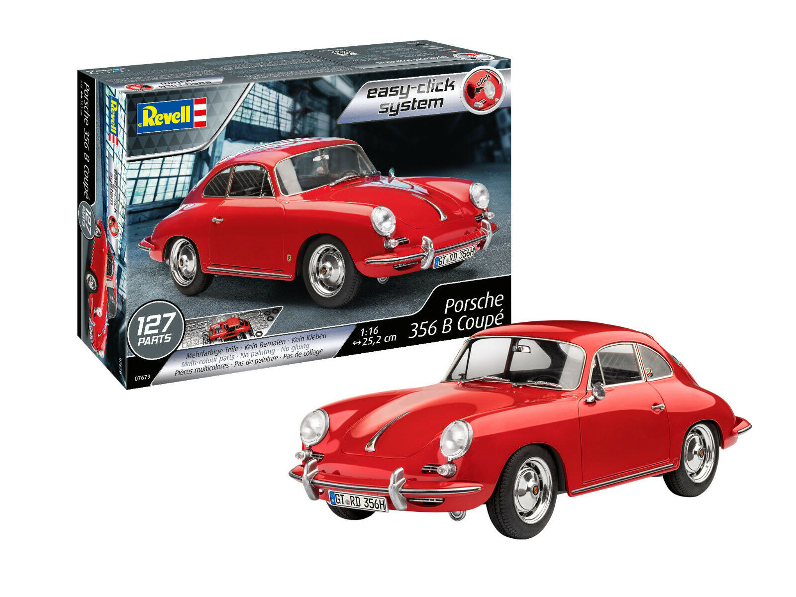 PORSCHE 356 Coupe, Revell Kit Auto 1 16, art. 07679