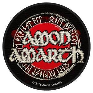 AMON-AMARTH-Patch-Aufnaeher-Runes-10x10cm-NEU