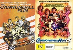 The Cannonball Run & Cannonball Run II (1 One & 2 TWO) NEW DVD SET Burt Reynolds