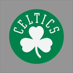 free shipping 80fc7 e96cf Details about Boston Celtics #7 NBA Team Logo Vinyl Decal Sticker Car  Window Wall Cornhole