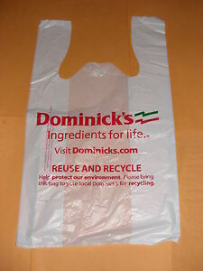 Image Is Loading 1 Dozen Dominick 039 S Chicago Plastic Grocery