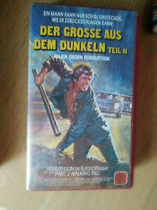 VHS-Film-Raritaet-DER-GROSSE-AUS-DEM-DUNKELN-WALKING-TALL-Part-2-1975