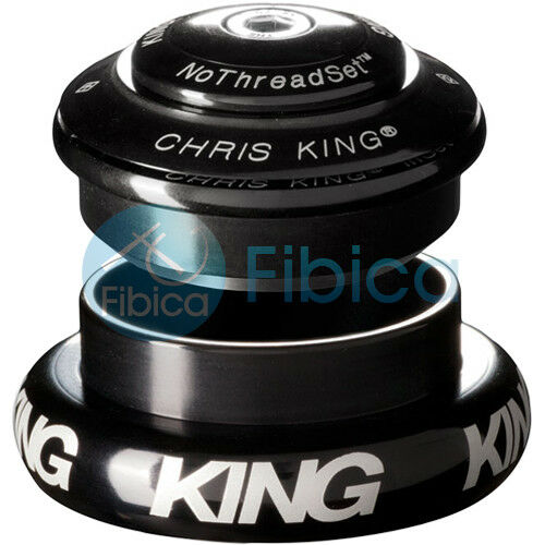 NEW CHRIS KING INSET 3 Threadless Headset Tapered 1 1 8 -1.5 44-49mm Matte Slate
