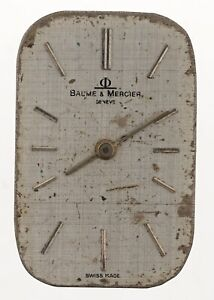 BAUME-amp-MERCIER-GENEVE-USED-WRIST-WATCH-DIAL-FOR-RESTORATION-W161