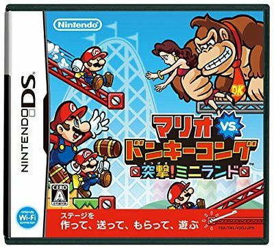USED DS Mario vs Donkey Kong MiniLand Mayhem game soft Japan import  4902370518610 | eBay