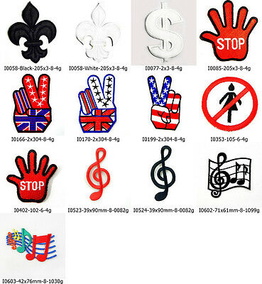 Symbol Logo Scout Sign Embroidered Sew Iron On Patch Appliques Decoration Kit