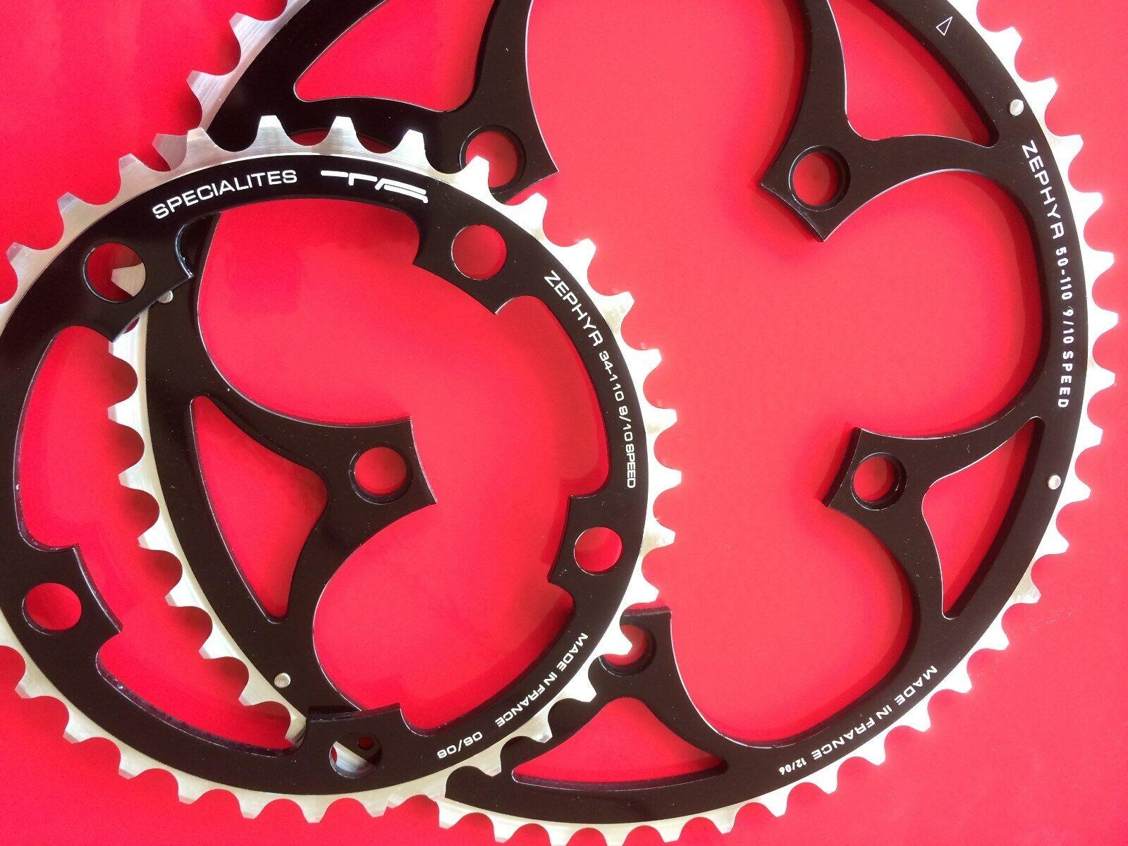 NUOVO 2x TA Zephyr INGRANAGGI 3450t COMPACT CHAIN RING 910s Shimano Road Bike