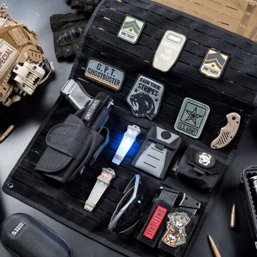 OneTigris Tactical Foldable Patch Holder /& Mini Tool Bag Organizer Cordura