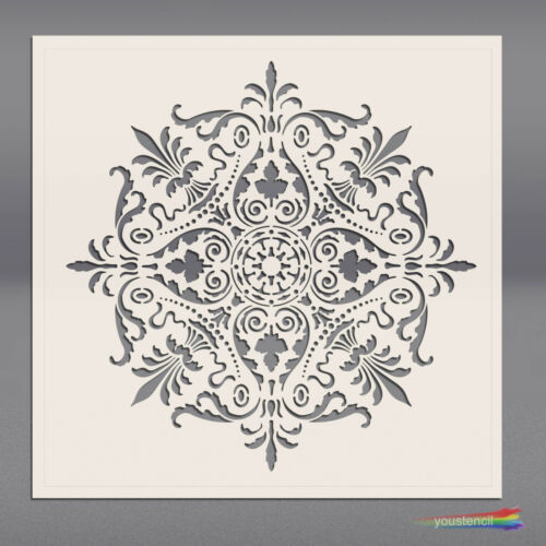 Mandala  #2 LARGE  Stencil Template: ST68L Art Airbrushing
