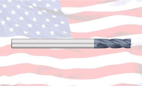 "5//16/"" TITAN USA 4 FLUTE SINGLE END X-LONG CARBIDE END MILL TC17620"