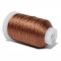 Gudebrod Silk Size D 260yd/238m Spool - Brown 541