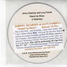 (DV484) Jonny Kearney & Lucy Farrell, Stand Up Show - 2012 DJ CD