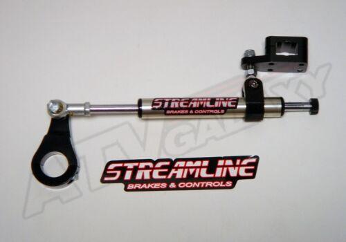 Streamline Black 7 Way Steering Stabilizer Yamaha YFZ450 YFZ 450 2009-2014
