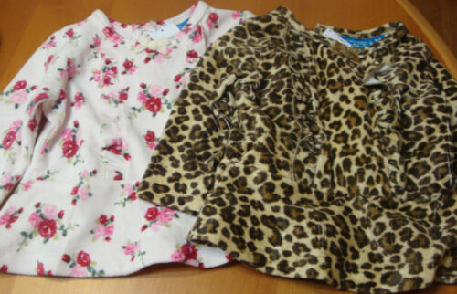 "INFANT//BABY GIRLS CHILDRENS PLACE DESIGNER TOPS /""ANIMAL PRINT OR FLOWERS/""   NWT"