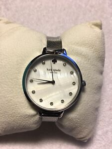 058d0b3e9ab Kate Spade Metro Three-Hand Stainless Steel Mesh Watch KSW1490 ...