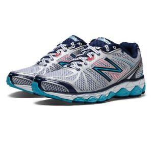 New-Balance-Women-039-s-W880MI3-Running-Shoe-Grey-Marle-Blue-880v3-Brand-New-880v3