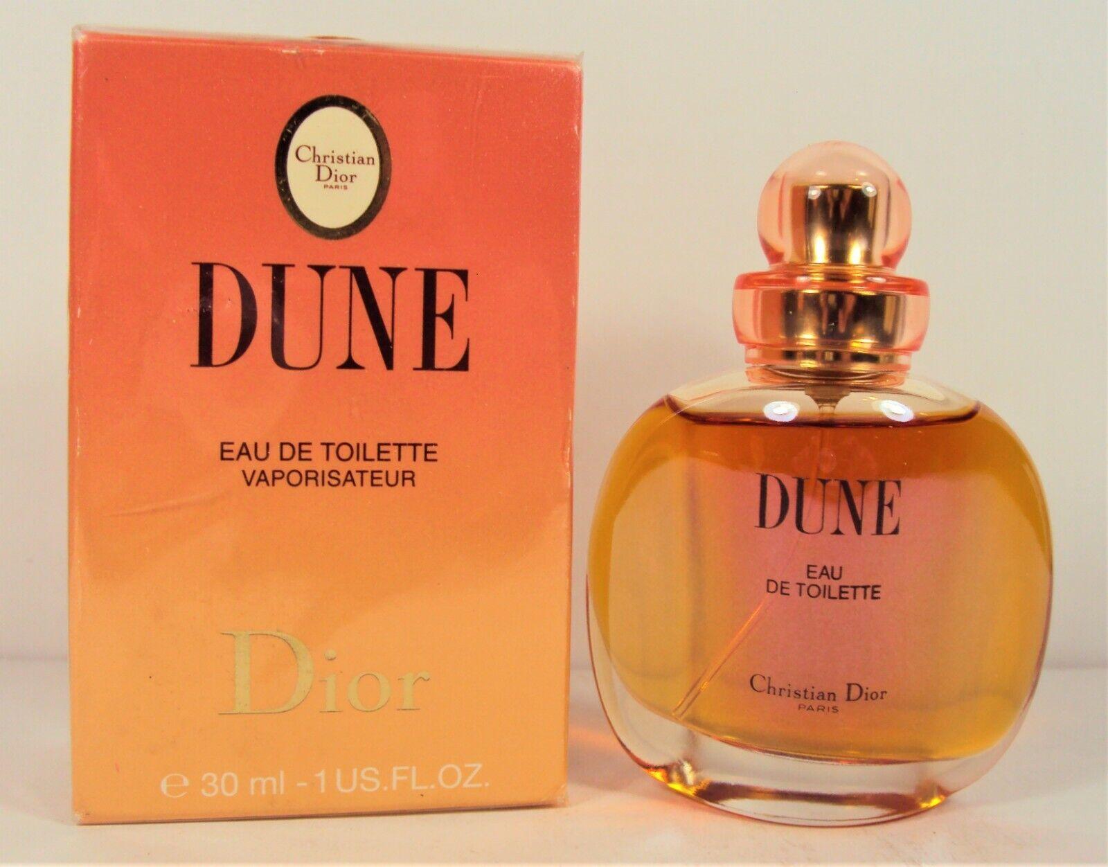 Vintage 90s Dune By Christian Dior Spray Edtoilette 1 Oz 30 Ml Old