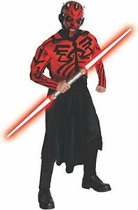 Darth Maul Red Lightsaber Star Wars Sith Lord Halloween Costume Accessory Weapon
