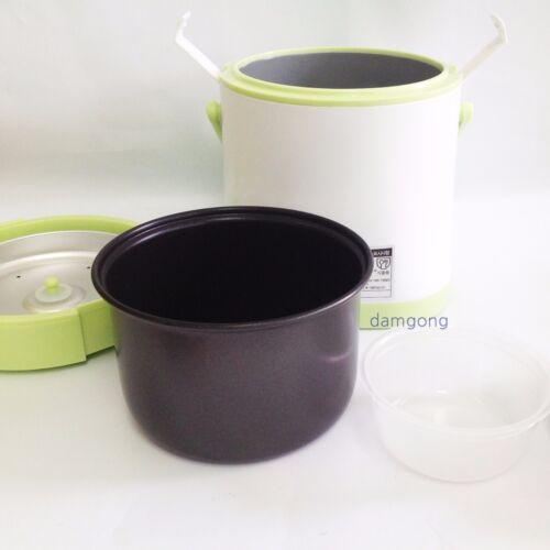 chauffe-Portable One Touch Cuisson Double Couvercles 0.5 L X 1 Set Mini riz Cuisinière