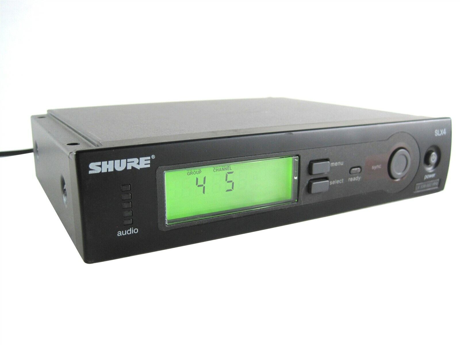 Shure Wireless SLX4 L4 638-662MHz Stage Party PA Microphone Wireless Receiver