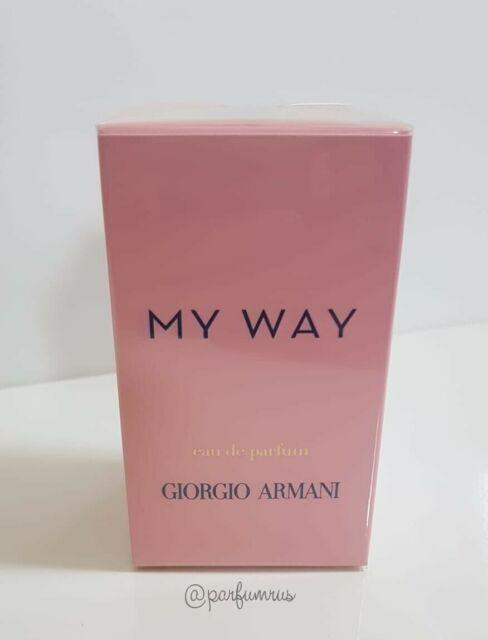 Giorgio Armani My Way Eau De Parfum 90ml. New Sealed in Box Free Shipping