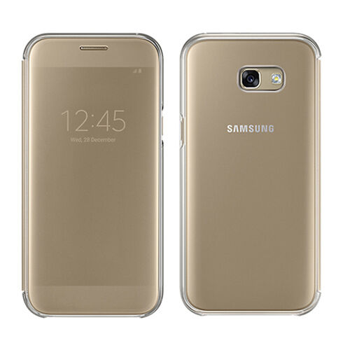online store e3047 eaeb6 Samsung Original S View Cover for Galaxy A5 2017 - Gold