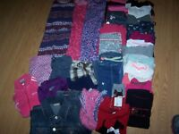 Girls Used Summer & Fall BTS Clothes Size 7/8 Lot of 38 Items