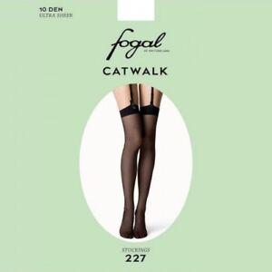 22a7adae59756 Fogal's Catwalk SIZE L Fine Hosiery 10 Denier Ultra Sheer Stockings ...