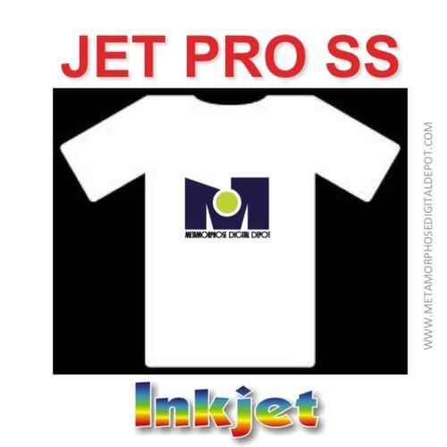 """Jet-Pro SS Sofstrech Inkjet Transfer Paper 8.5/"""" x 11/"""" 200 Shs  Best Price"""