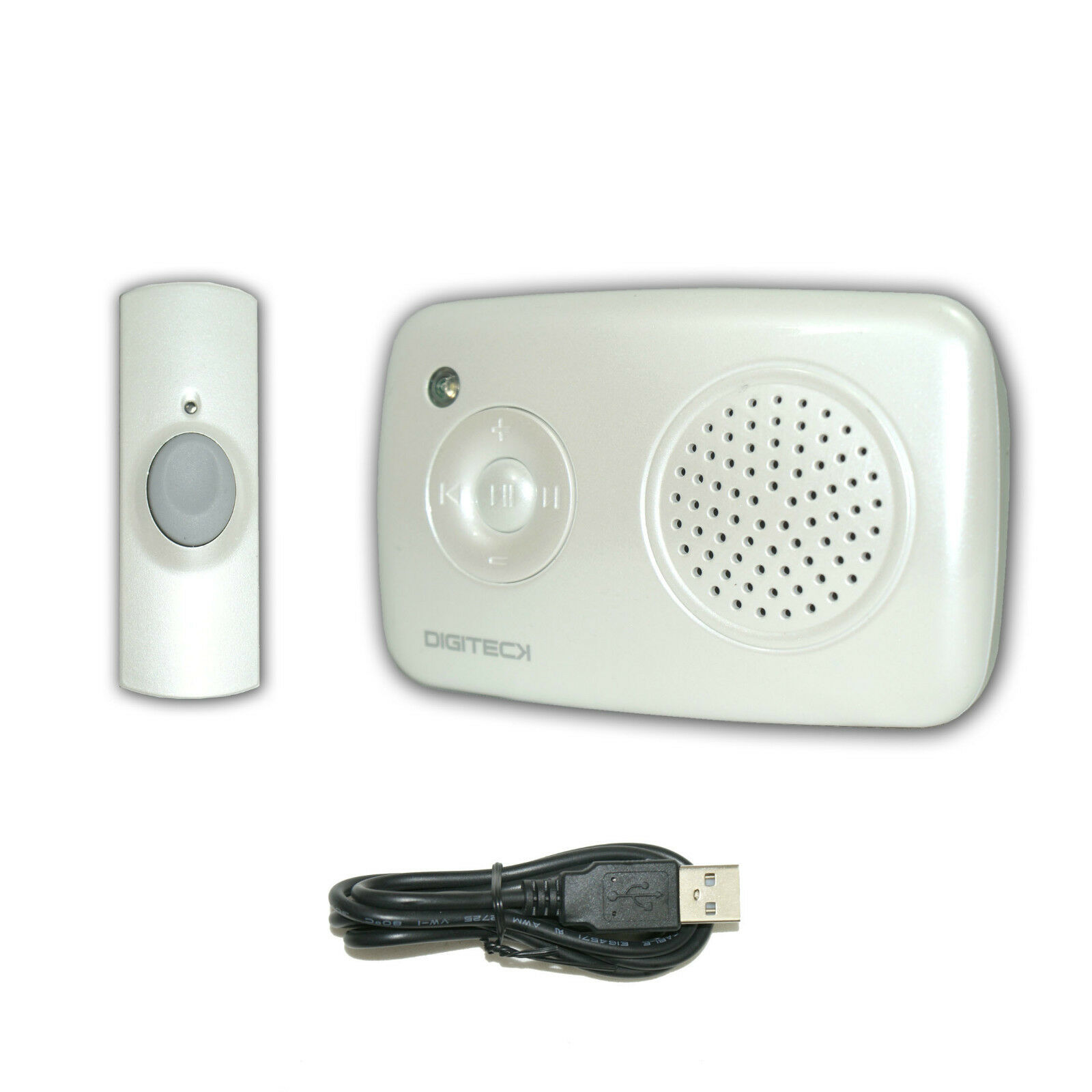 E6 Wireless Mp3 Doorbell Music Download Cordless Alert Portable ...