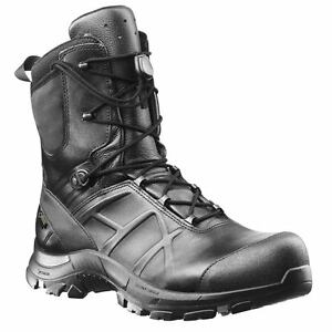 Haix Black Eagle Safety 50 High Leather Waterproof Combat Safety Work Boots