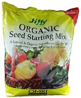 (2) Jiffy 12 Qt Seed Starting Mix Natural & Organic Professional Mix - G312