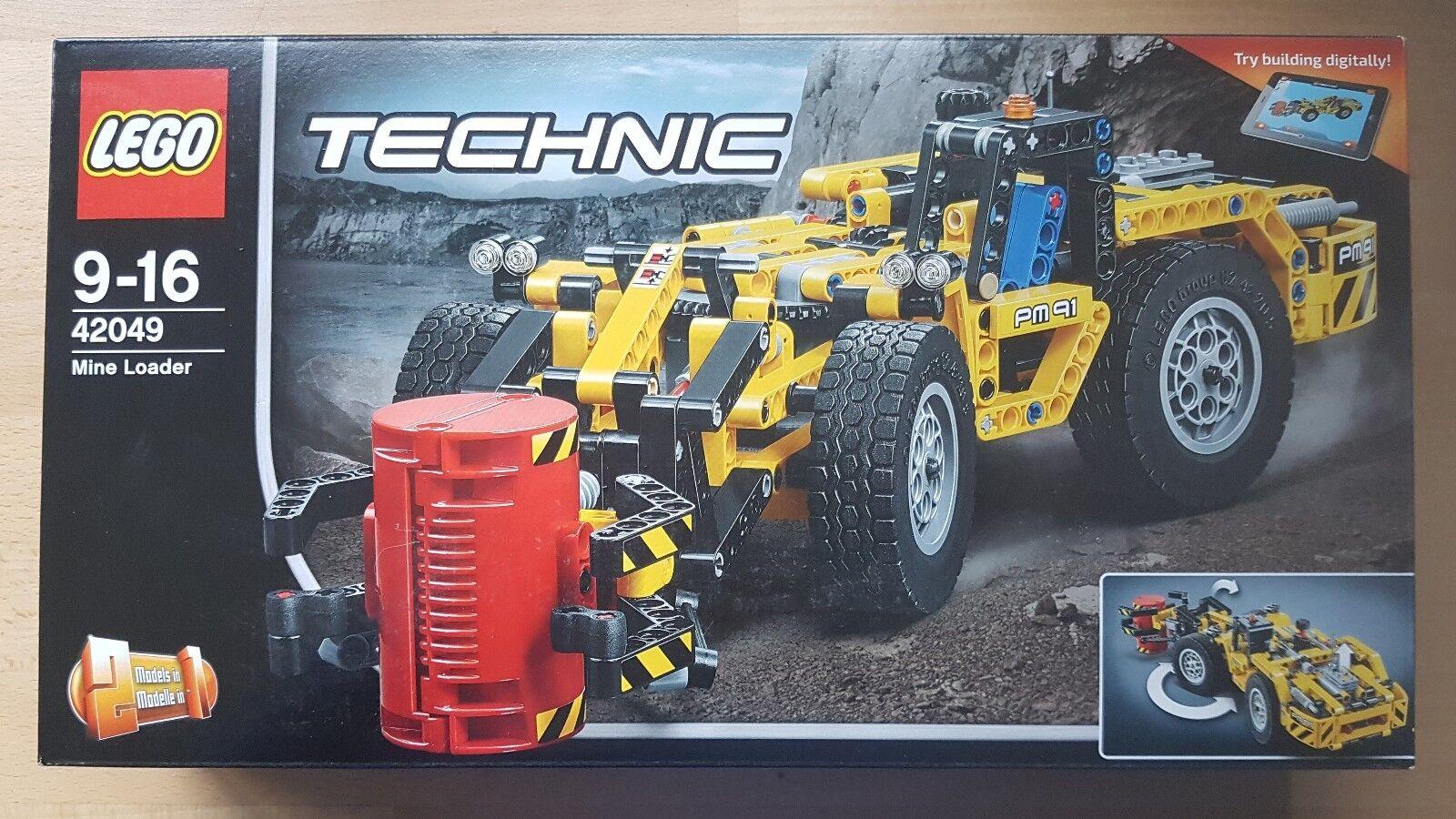 LEGO TECHNIC 42049 La chargeuse de la mine  Loader ++ 100% NEUF BOITE SCELLE  ++