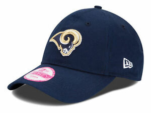 7c967d267b3 St. Louis Rams New Era 9Forty NFL Football Sideline Womens BCA Cap ...